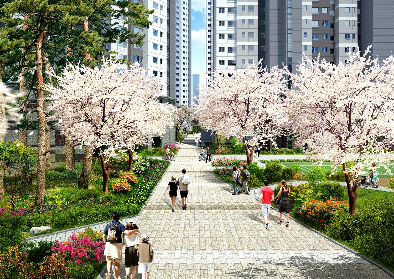 왕벚나무길
